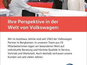 Ihre Perspektive in der Welt von Volkswagen
