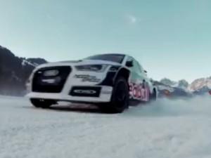 Audi quattro slalom challenge