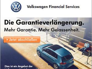 Volkswagen Neuwagen-Garantieverlängerung