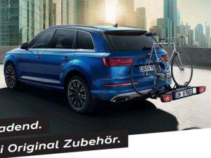 Einladend. Audi Original Zubehör